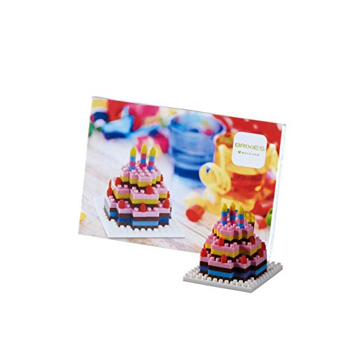 (Brixies - Postcard Birthday Cake - Send a Gift in The Mail)