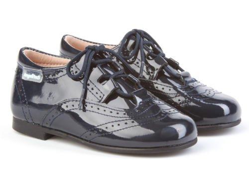 Azul Garantia Charol Inglesitos Calidad Calzado Made Mod De 1505 Piel Marino Infantil Zapatos Todo Para In Spain Niños OawwF