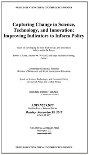 Capturing Change in Science, Technology, and Innovation: Improving Indicators to Inform Policy