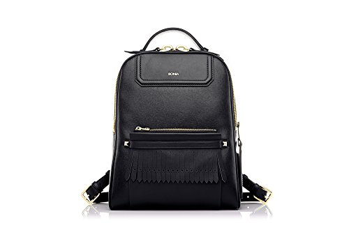 bonia-womans-black-caelia-backpack
