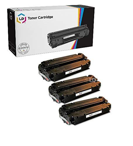 LD Remanufactured Toner Cartridge Replacement for HP 13X Q2613X High Yield (Black, 3-Pack) ()