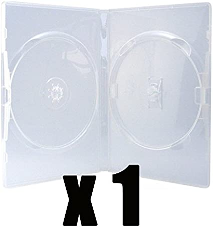 Caja 2 DVD de talla Standard & transparente – compra unitario ...