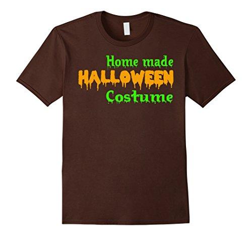 Mens Home Made Halloween Costume T-Shirt Small (Male Homemade Halloween Costumes)