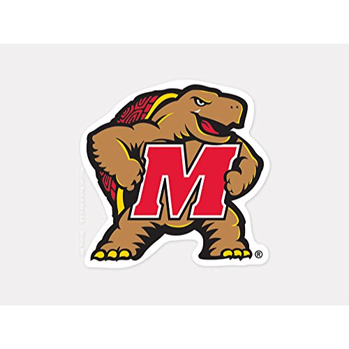 WinCraft NCAA University of Maryland Perfect Cut Color Decal, 4
