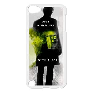 DIY Design Doctor Who Tardis Printed-Protective Plastic Cover Case for iPod Touch 5/5th Generation (Hard Plastic)Perfect for Christmas gift
