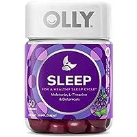 50-Count OLLY Sleep Melatonin Gummies (Blackberry Zen, 3 mg, 25 day supply)