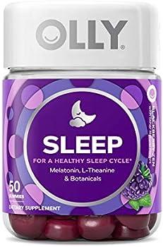 50-Count OLLY 3mg Sleep Melatonin Gummies