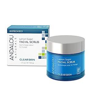 Andalou Naturals Lemon Sugar Facial Scrub, 1.7 Ounce