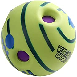 2016 New Lovely Wobble Wag Giggle Ball Dog Play Ball with Funny Sound Keeps Dogs Happy All Day