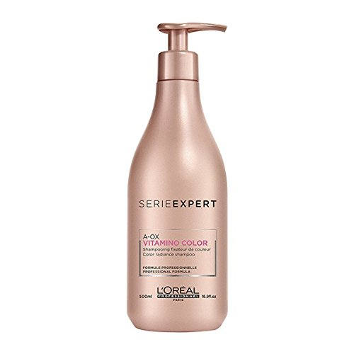 Color Shampoo Loreal (L'Oreal Professionnel Serie Expert - Vitamino Color A-OX Color Radiance Shampoo 500ml/16.9oz)