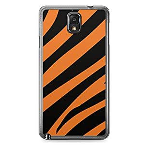 Tiger Samsung Note 3 Transparent Edge Case - Animal Prints Collection