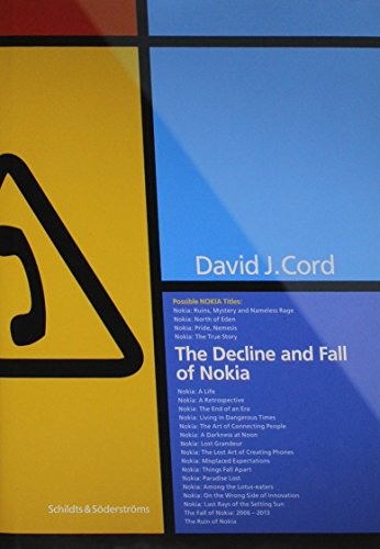 Price comparison product image The Decline and Fall of Nokia