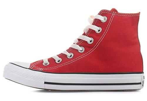 Convers'all star modèle chucks chaussures m9621, baskets mode, couleur : rouge - Rouge - Rouge, 39 EU
