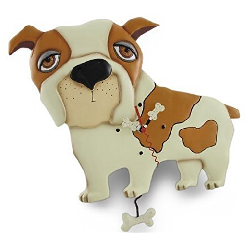 Allen Designs `Spike the Dog` Pendulum Wall (Spike Clock)