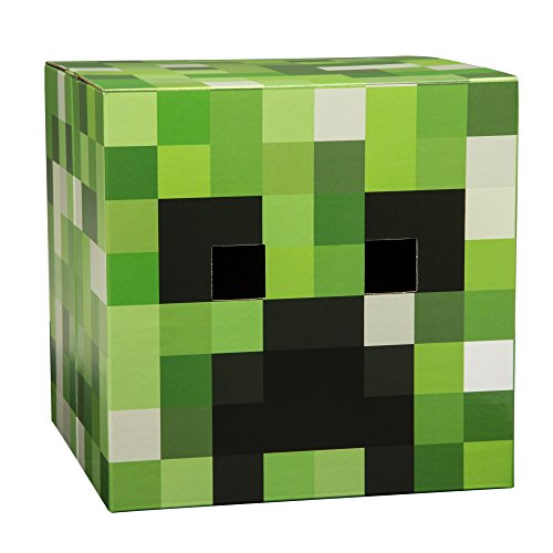 Minecraft Creeper Head V2 Premium Costume Mask