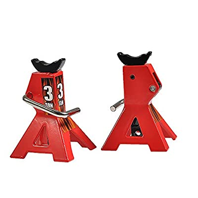 2 PCS Alloy 1/10 Stand Jack for RC Crawler Truck Axial TRX-4 D90 Wraith