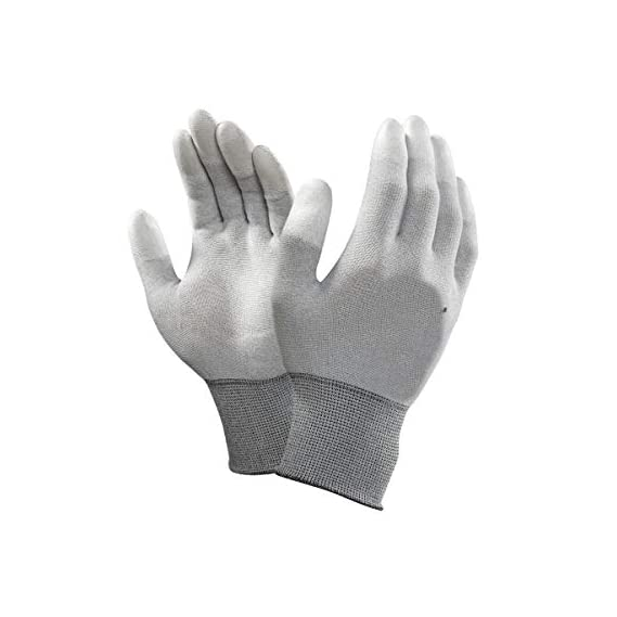 SCHOFICSCHOFIC [1 Pair] Reuseable/Washable Safety Working Hand Gloves,Size- L