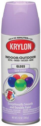 Krylon Colormaster Indoor/Outdoor Aerosol Paint 12oz-Gloss Gum Drop