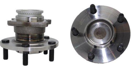 Mitsubishi Galant Wheel Hub (Brand New (Both) Rear Wheel Hub and Bearing Assembly Mitsubishi Eplicpse, Galant 5 Lug W/ ABS (Pair) 512274 x2)