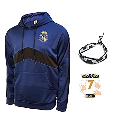 Real Madrid Hoodies for Boys Youth and Mens Adults Winter Soccer New Season Official Licensed Set RM8