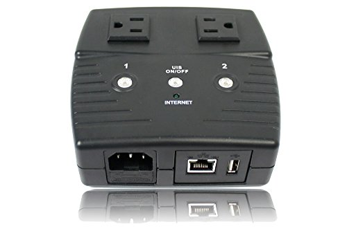 3Gstore Remote Power IP Switch – 2 Outlets
