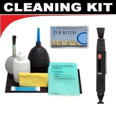 Lenspen Lens Cleaning System + Hurricane Blower + Deluxe 5-Piece Cleaning KitFor The Fuji Film Z800EXR (Z800 EXR), JX280 Digital Caneras by DBROTH