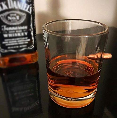 Lucky Shot .308 RealBullet HandmadeWhiskey Glass - Set of 4 by Lucky Shot (Image #4)