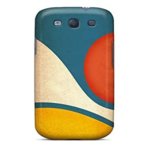 New Snap-on Mwaerke Skin Case Cover Compatible With Galaxy S3- Wave And Sun