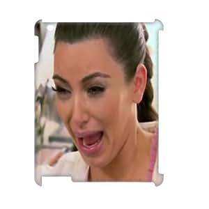 Clzpg 3D New Design Ipad2,3,4 Case - Kim Kardashian DIY 3D plastic case