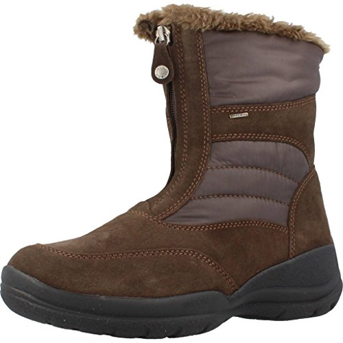 Women's Winter Boot B D Coffee Hellin Geox PdwAqngP