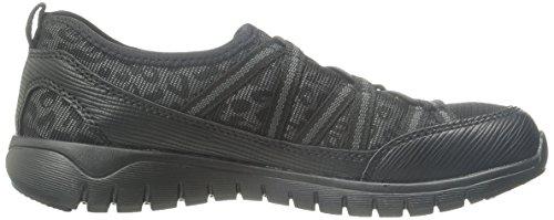 Leopard Shoe Ghillie Black Propet Casual Travellite Women's wxq8qYRU