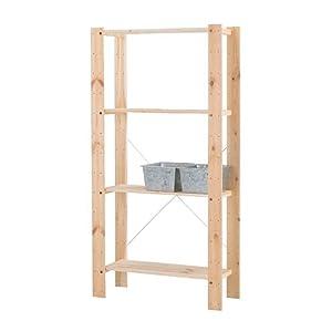 Ikea gorm  Amazon.com: Ikea Gorm Shelving Units Soft Wood , Multi-use ...
