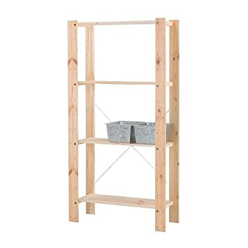 Phenomenal Amazon Com Ikea Gorm Shelving Units Soft Wood Multi Use Download Free Architecture Designs Viewormadebymaigaardcom