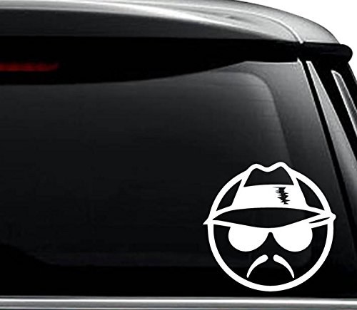 Mexican Lowrider Decal Sticker For Use On Laptop, Helmet, Car, Truck, Motorcycle, Windows, Bumper, Wall, and Decor Size- [8 inch] / [20 cm] Wide / Color- Matte Black