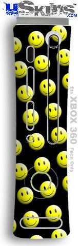 XBOX 360 Faceplate Skin - Smileys on Black