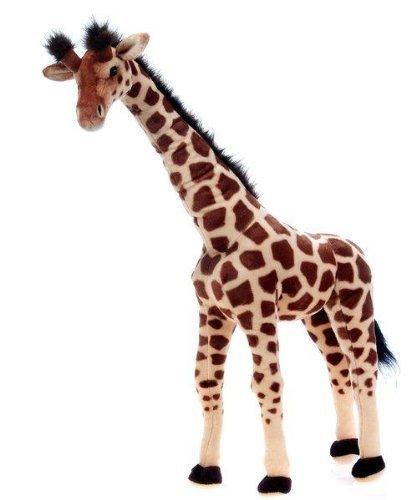 Fiesta Toys Giraffe Standing Plush Stuffed Animal Toy by Plush, 34''/Large by Fiesta Toys