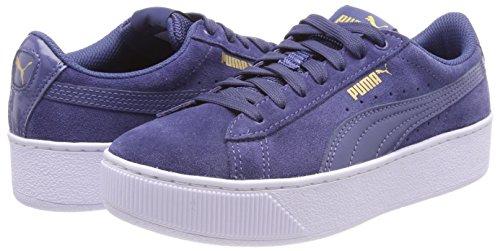 Platform Indigo blue Indigo Para Vikky blue Mujer Zapatillas Puma Azul x7wUPw
