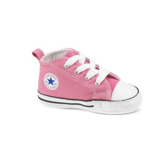 - Converse First Star Crib Shoes - Pink - UK 4