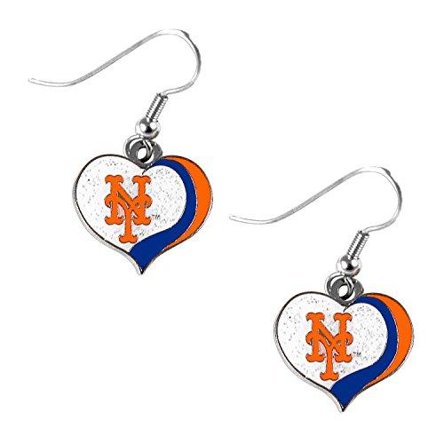 new york mets earrings - 2