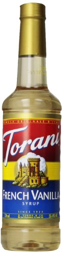 (Torani Syrup, French Vanilla, 25.4 Ounce (Pack of 4))