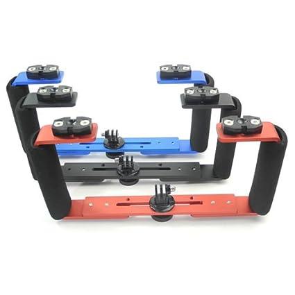 Simple Básica Bandeja adecuado para GoPro, Olympus TG4 Canon G15 ...