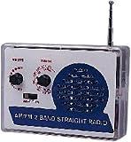 【電子工作キット】 AM/FM 2バンド ストレートラジオ