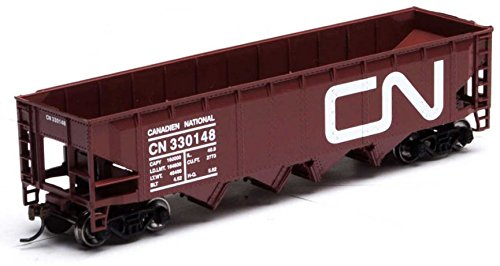 t 4-Bay Offset Hopper/Coal Load Canadian National/CN #330148 ()
