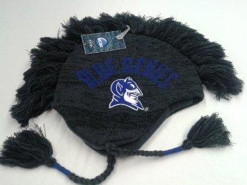 NEW! NCAA Duke Blue Devils mohawk beanie Cap
