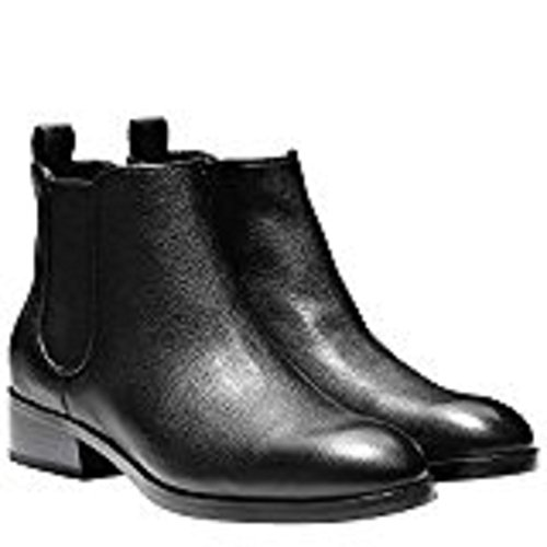 Cole Haan Womens landsman Bootie 9 Black Leather
