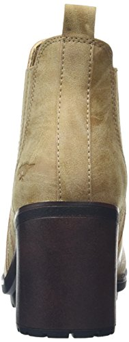 Rocket Dog Raegan, Bottines Femme, Noir Beige (Heirloom Natural)