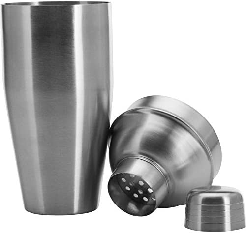 23.5 x 9 x 9 cm Stainless Steel Silver Westmark Cocktailshaker
