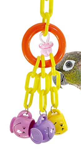 Parrot Large Mug - Bonka Bird Toys 942 Three Mugs Bird Toy parrot cage toys cages cockatiel conure caique parakeet
