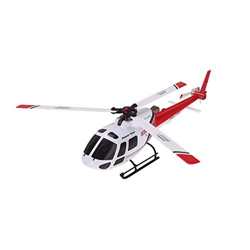 Wltoys V931 3 Axis & 6 Axis Gyro 3 Blade 6CH Brushless Motor Flybarless AS350 Scale Helicopter without Transmitter
