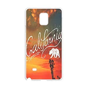 California Love Discount Personalized Cell Phone Case for Samsung Galaxy Note 4, California Love Galaxy Note 4 Cover